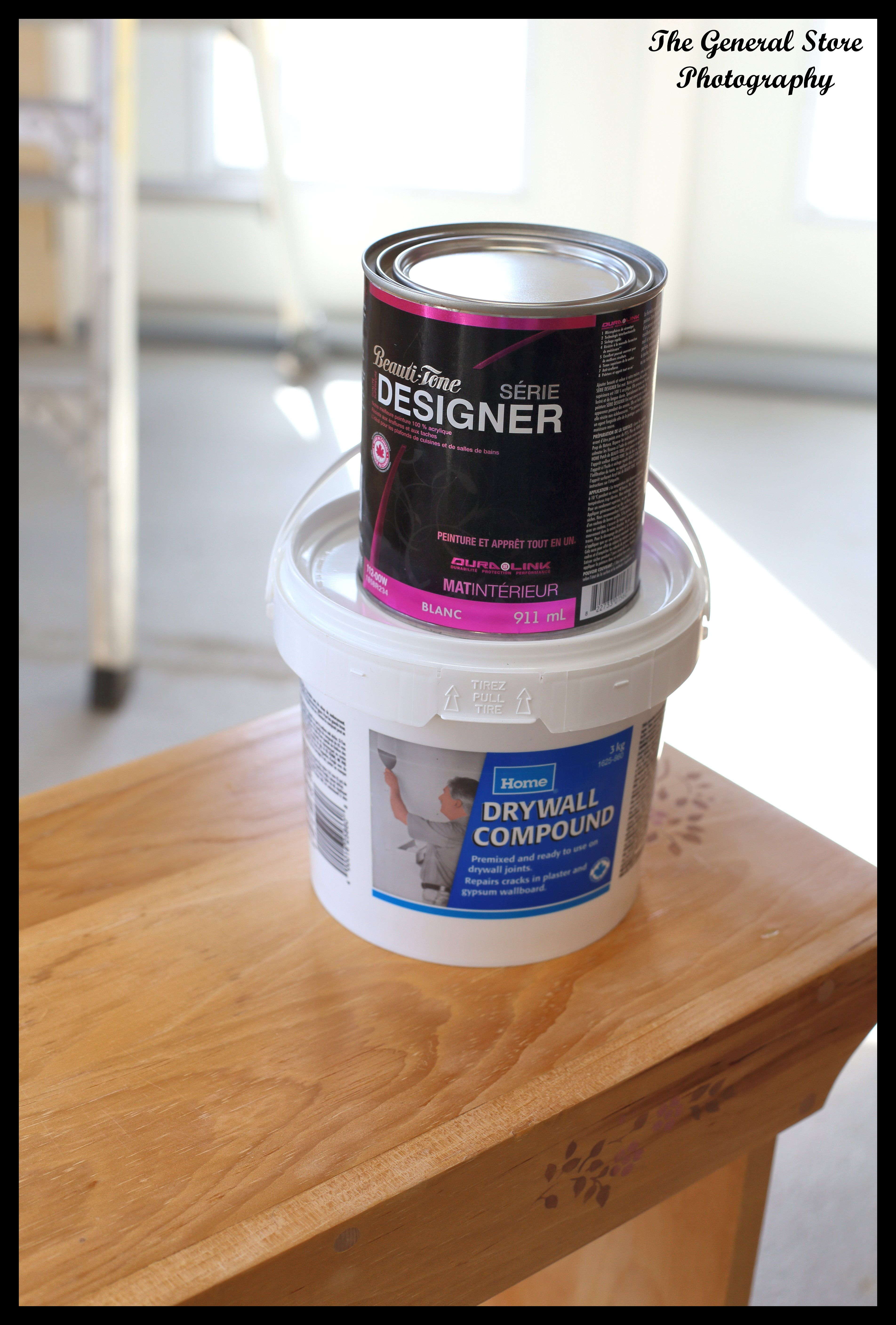 Making Chalk Paint With Drywall Compound