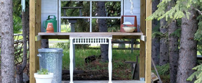 Potting Bench Reveal